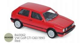 Volkswagen  - 1990 red - 1:43 - Norev - 840062 - nor840062 | The Diecast Company