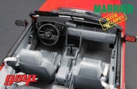 Ford  - Mustnag 5.0 convertible 1988 red - 1:18 - GMP - gmp18904 | The Diecast Company
