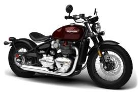 Triumph  - dark red/black - 1:18 - Bburago - 51067 - bura51067 | The Diecast Company