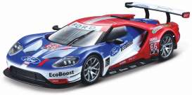 Ford  - 2017 blue/red - 1:32 - Bburago - bura41159 | The Diecast Company