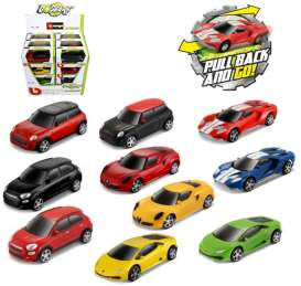 Assortment/ Mix  - various - 1:43 - Bburago - bura30524 | The Diecast Company