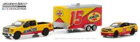 Ford Shelby - F-150 yellow/red - 1:64 - GreenLight - gl31050C | The Diecast Company