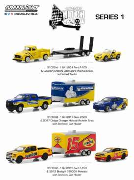 Assortment/ Mix  - various - 1:64 - GreenLight - gl31050 | The Diecast Company