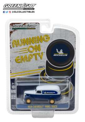 Chevrolet  - 1939 blue/white - 1:64 - GreenLight - 41050B - gl41050B | The Diecast Company