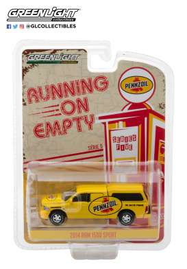 Dodge Ram - 1500 2014 yellow - 1:64 - GreenLight - 41050F - gl41050F | The Diecast Company
