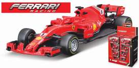 Ferrari  - 2018 red - 1:43 - Bburago - bura36809V | The Diecast Company