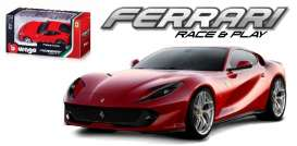 Ferrari  - 1 red - 1:43 - Bburago - bura36032R | The Diecast Company