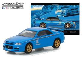 Nissan  - Skyline GT-R R34 2001  - 1:64 - GreenLight - 29944 - gl29944 | The Diecast Company