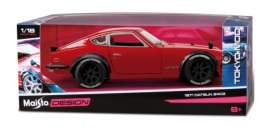 Datsun  - 1971 orange - 1:18 - Maisto - 326110O - mai326110O | The Diecast Company