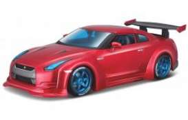Nissan  - 2009 blue/black - 1:18 - Maisto - mai32526 | The Diecast Company