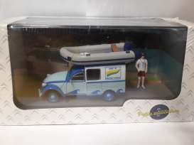 Citroen  - blue - 1:43 - Magazine Models - PU05 - magPU05 | The Diecast Company