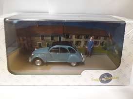 Citroen  - blue - 1:43 - Magazine Models - PU15 - magPU15 | The Diecast Company