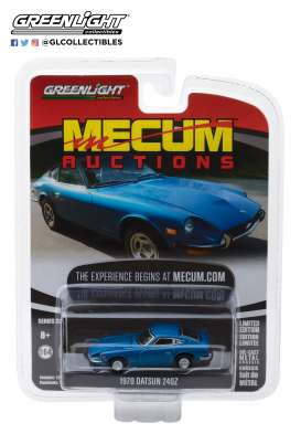 Datsun  - 240Z 1970 blue - 1:64 - GreenLight - 37140B - gl37140B | The Diecast Company