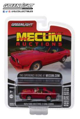 Ford  - Mustang King Cobra 1978 red - 1:64 - GreenLight - 37140E - gl37140E | The Diecast Company