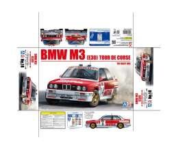 BMW  - 1988 red/white - 1:24 - Beemax - bmx24016 | The Diecast Company
