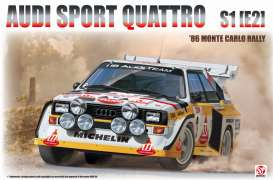 Audi  - Quattro 1985 white/yellow/red - 1:24 - Beemax - 24017 - bmx24017 | The Diecast Company