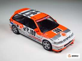 Honda  - 1992 red/white - 1:24 - Beemax - bmx24018 | The Diecast Company