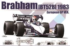 Brabham  - BT52-B #5 1983 white/blue - 1:20 - Beemax - bmx20004 | The Diecast Company