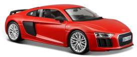 Audi  - R8 2015 red - 1:24 - Maisto - 31513R - mai31513R | The Diecast Company