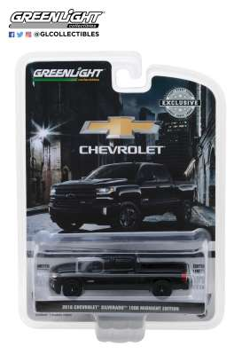 Chevrolet  - 2018 black - 1:64 - GreenLight - 29941 - gl29941 | The Diecast Company
