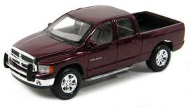 Dodge  - 2002 red - 1:24 - Maisto - mai31963R | The Diecast Company