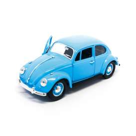 Volkswagen  - 1967 light blue - 1:24 - Lucky Diecast - ldc24202lb | The Diecast Company
