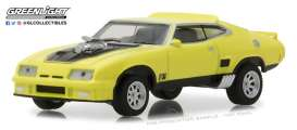 Ford  - Falcon XB Custom 1973 yellow blaze with black stripe - 1:64 - GreenLight - gl29947 | The Diecast Company