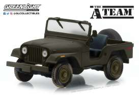 Jeep  - CJ-5 *A Team* green - 1:43 - GreenLight - 86526 - gl86526 | The Diecast Company