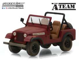 Jeep  - CJ-7 *A Team*  - 1:43 - GreenLight - 86528 - gl86528 | The Diecast Company
