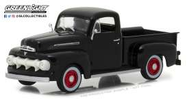 Ford  - F-1 1951 raven black - 1:43 - GreenLight - gl86315 | The Diecast Company