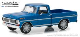 Ford  - F-series Truck 1979 dark blue poly - 1:43 - GreenLight - 86317 - gl86317 | The Diecast Company