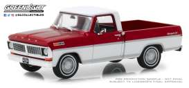 Ford  - F-series Truck 1979 bright red and white - 1:43 - GreenLight - 86318 - gl86318 | The Diecast Company