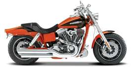Harley Davidson  - orange - 1:18 - Maisto - 09080 - mai09080 | The Diecast Company