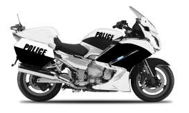 Yamaha  - white/black - 1:18 - Maisto - mai32306-03 | The Diecast Company
