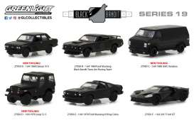Assortment/ Mix  - black - 1:64 - GreenLight - gl27950 | The Diecast Company