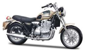 Triumph  - gold/black - 1:18 - Maisto - mai346 | The Diecast Company