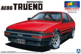 Toyota  - 1983 red/black - 1:24 - Aoshima - abk15315 | The Diecast Company