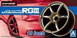 Rims & tires  - 1:24 - Aoshima - 15329 - abk15329 | The Diecast Company