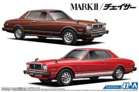 Toyota  - MX41 Mark2 Chaser 1979  - 1:24 - Aoshima - 05860 - abk05860 | The Diecast Company