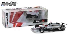 Chevrolet  - Indy car #12 2018 silver/red - 1:18 - GreenLight - 11031 - gl11031 | The Diecast Company