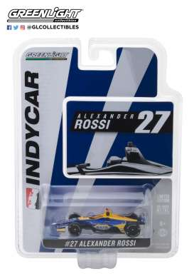 Honda  - 2018 blue/yellow - 1:64 - GreenLight - 10803 - gl10803 | The Diecast Company