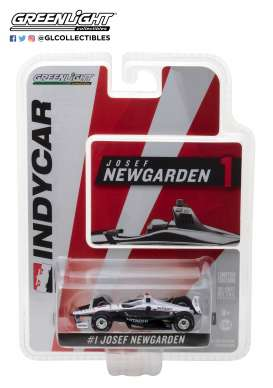 Chevrolet  - Indy Car 2018 black/white - 1:64 - GreenLight - 10807 - gl10807 | The Diecast Company
