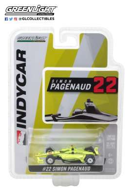 Chevrolet  - Indy car #22 2018 yellow - 1:64 - GreenLight - 10809 - gl10809 | The Diecast Company