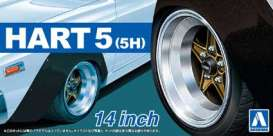 Wheels & tires  - 1:24 - Aoshima - abk15436 | The Diecast Company