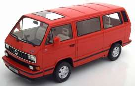 Volkswagen  - 1992 red - 1:18 - KK - Scale - kkdc180142 | The Diecast Company