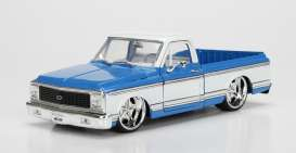 Chevrolet  - 1972 blue/white - 1:24 - Jada Toys - jada99046b | The Diecast Company