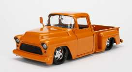 Chevrolet  - 1955 orange - 1:24 - Jada Toys - jada99040o | The Diecast Company