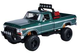 Ford  - 1979 green - 1:24 - Motor Max - mmax79138gn | The Diecast Company