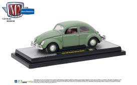 Volkswagen  - 1952 pastel green - 1:24 - M2 Machines - M2-40300-59A | The Diecast Company