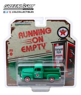 Ford  - F-1 pick-up 1948 green - 1:43 - GreenLight - 87010A - gl87010A | The Diecast Company